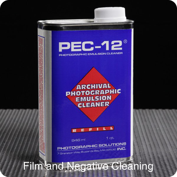 Film and Negative Cleaning with Pec12 and Pec Pads