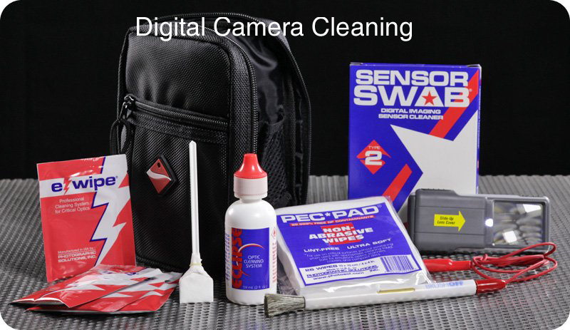 Digital Camera Cleaning Products fron Photographic Solutions